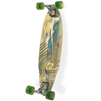 Fingers crossed! I really like this board from overall shape and image, and I'm pretty excited to get used to longboarding. Like I said before, it's pretty much like surfing on pavement.