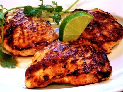 Grilled Tequila Chicken