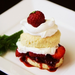 Strawberry Shortcake. (My favorite cake of all time.)