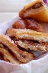 Fried Peanut Butter & Jelly Sandwich