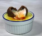 Cadbury Egg Crème Brûlée