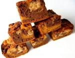 Peanut Butter Pumpkin Brownies