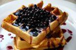 Blueberry Waffles.