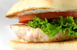 Chicken Sandwich with Yogurt Dill Sauce